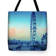 London Eye At Dusk Tote Bag