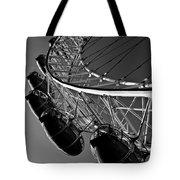 London Eye Tote Bag by David Pyatt