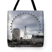 London Eye View Tote Bag