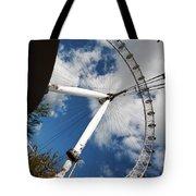 London Ferris Wheel Tote Bag