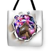 ''london'' Tote Bag