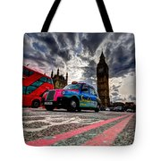 London In One Picture Tote Bag