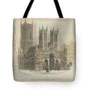 London Lincoln Cathedral. Tote Bag