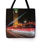 London Lit Tote Bag