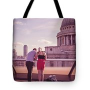 London Love, Love London Tote Bag