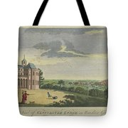 London Magazine, London South East View Of Gloucester Lodge In Windsor Great Park Published Aug 1780 Tote Bag