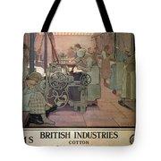 London Midland And Scottish Railway, British Industries - Retro Travel Poster - Vintage Poster Tote Bag