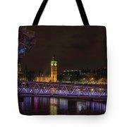 London Nights Tote Bag