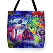 London Portrait  Tote Bag