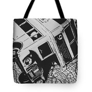 London Side Streets Tote Bag
