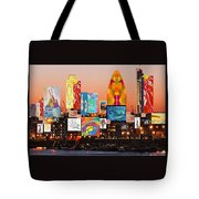 London Skyline Collage 2 Tote Bag