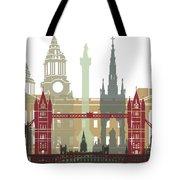 London Skyline Poster Tote Bag