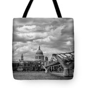 London - St. Pauls Cathedrale Tote Bag
