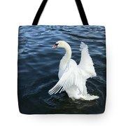 London Swan Tote Bag