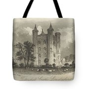 London Tattershall Castle, Lincolnshire. Published 1 Dec 1849 Tote Bag