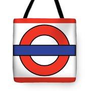 London Underground Blank Tote Bag