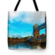 London Unveiled Tote Bag