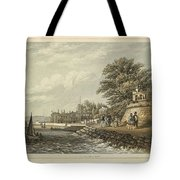 London West Cowes, Isle Of Wight Tote Bag