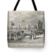London Windsor Castle East Terrace, The Queen's Private Apartments Tote Bag