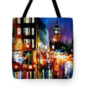 London's Lights Tote Bag