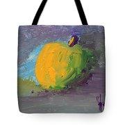 Lone Apple Tote Bag