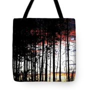 Lone Butte Sunset Tote Bag