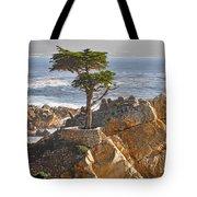 Lone Cypress - The Icon Of Pebble Beach California Tote Bag