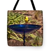 Lone Drinker Tote Bag