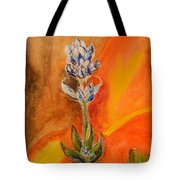 Lone Flower Tote Bag