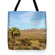 Lone Joshua Tree - Pleasant Valley Tote Bag