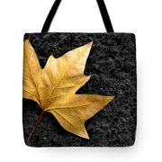 Lone Leaf Tote Bag by Carlos Caetano