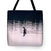 Lone Loon Tote Bag