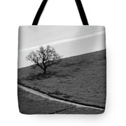 Lone Oak Tote Bag