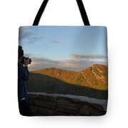 Lone Photographer I Tote Bag