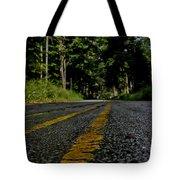 Lone Road Tote Bag