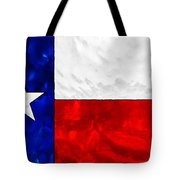 Lone Star Stained Glass Tote Bag