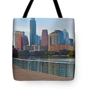 Lone Star State Capitol Ahead Tote Bag
