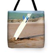 Lone Surfboard Tote Bag