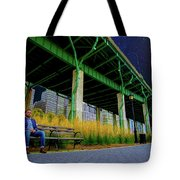 Loneliness In The City Tote Bag