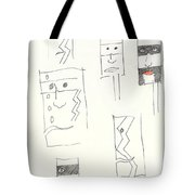 Lonely Are The Braves Tote Bag