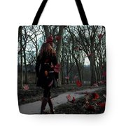 Lonely Autumn Tote Bag