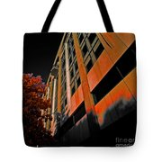 Lonely Balkony Infrared Color 80 Tote Bag