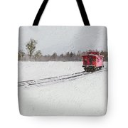 Lonely Caboose Tote Bag