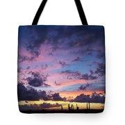 Cacti Sunset Tote Bag