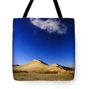 Lonely Cloud Over Sand Dunes At Bruneau Dunes State Park Idaho Usa Tote Bag