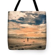 Lonely Couple  Tote Bag