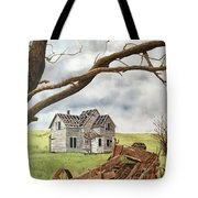 Lonely Farm Tote Bag