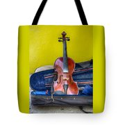Lonely Fiddle Tote Bag