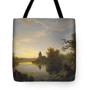 Lonely Fisherman Tote Bag