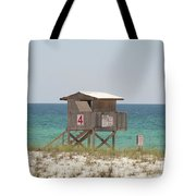 Lonely Guard Shack Tote Bag